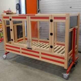 NIEUW: 2x Alert type 1550 standaard. 80x180 cm matras